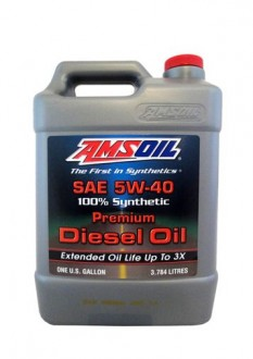 AMSOIL Signature Series Max-Duty Synthetic Diesel Oil