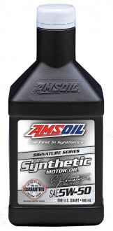 AMSOIL Signature Series Synthetic Motor Oil SAE 5W-50 (0,946л)