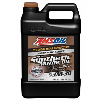 AMSOIL Signature Series Synthetic Motor Oil SAE 0W-30 (3,78л)
