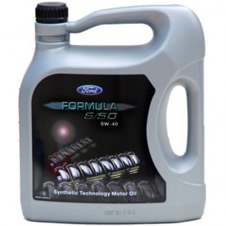 FORD Formula S/SD Synthetic Technology Motor Oil SAE 5W-40