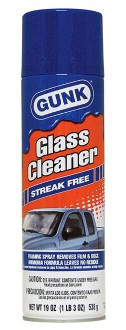 Очиститель стекол GUNK Glass Cleaner Liquid (with Ammonia) Aerosol (538гр)