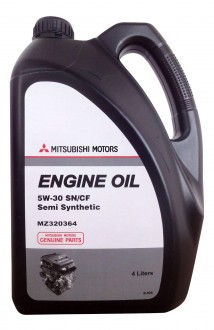 MITSUBISHI Engine Oil Semi-Synthetic SN/CF