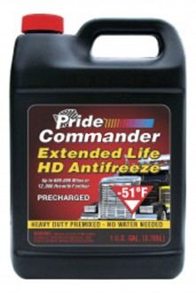 PRIDE Commander Extended Life HD Antifreeze -51F