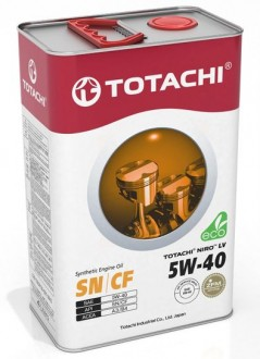 TOTACHI NIRO LV Synthetic SN/CF  3,47 кг/ акция (4+1=)