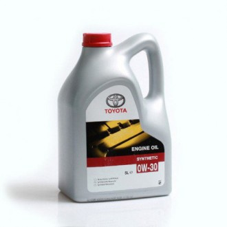 TOYOTA Engine Oil Synthetic SAE 0W-30 ( 5л)